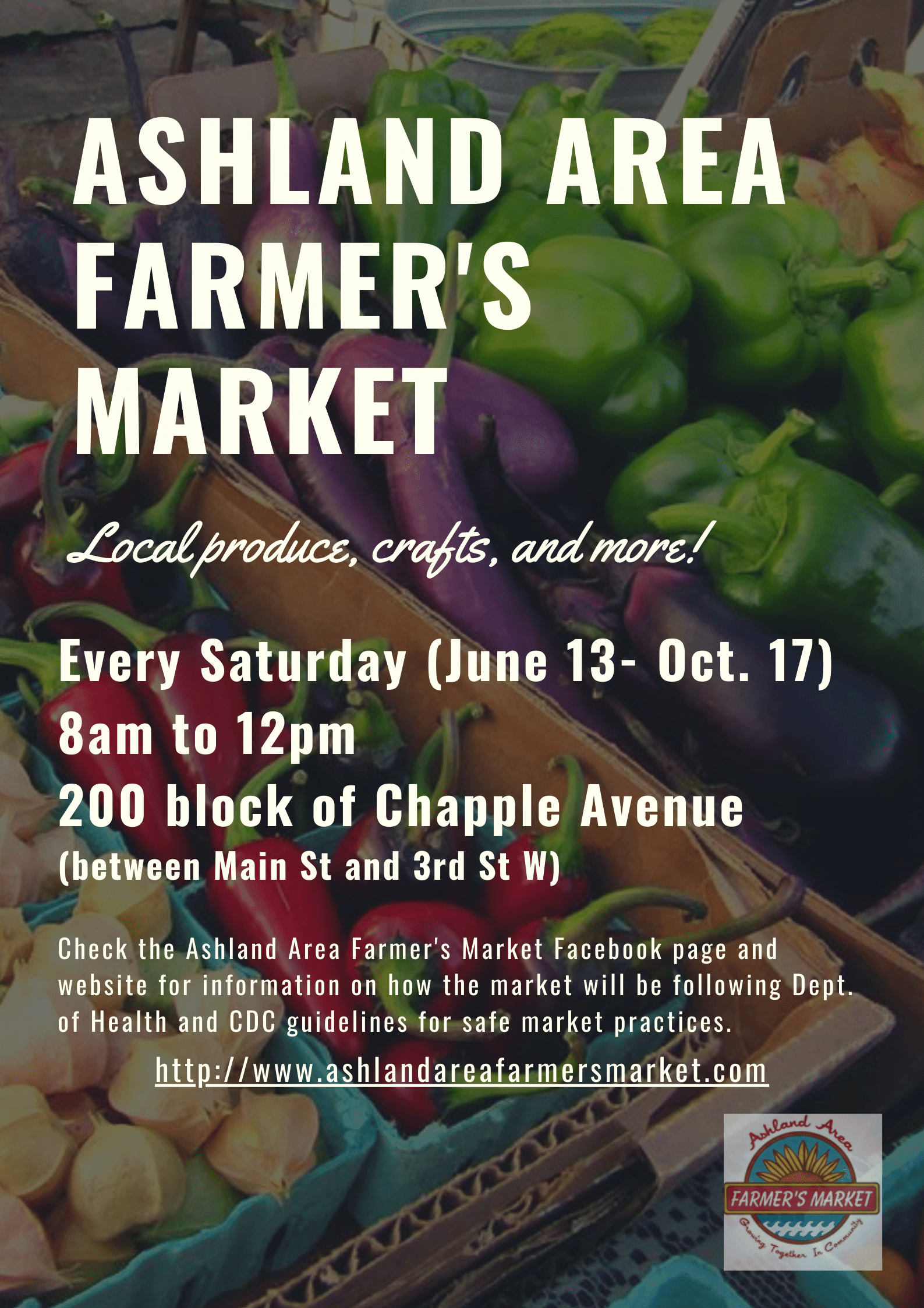 Farmers Market Flyer 2020