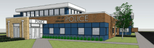 Police Station Rendering