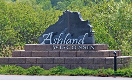 Ashland Welcome Sign