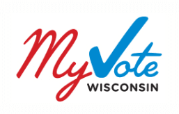 Logo for MyVote Wisconsin