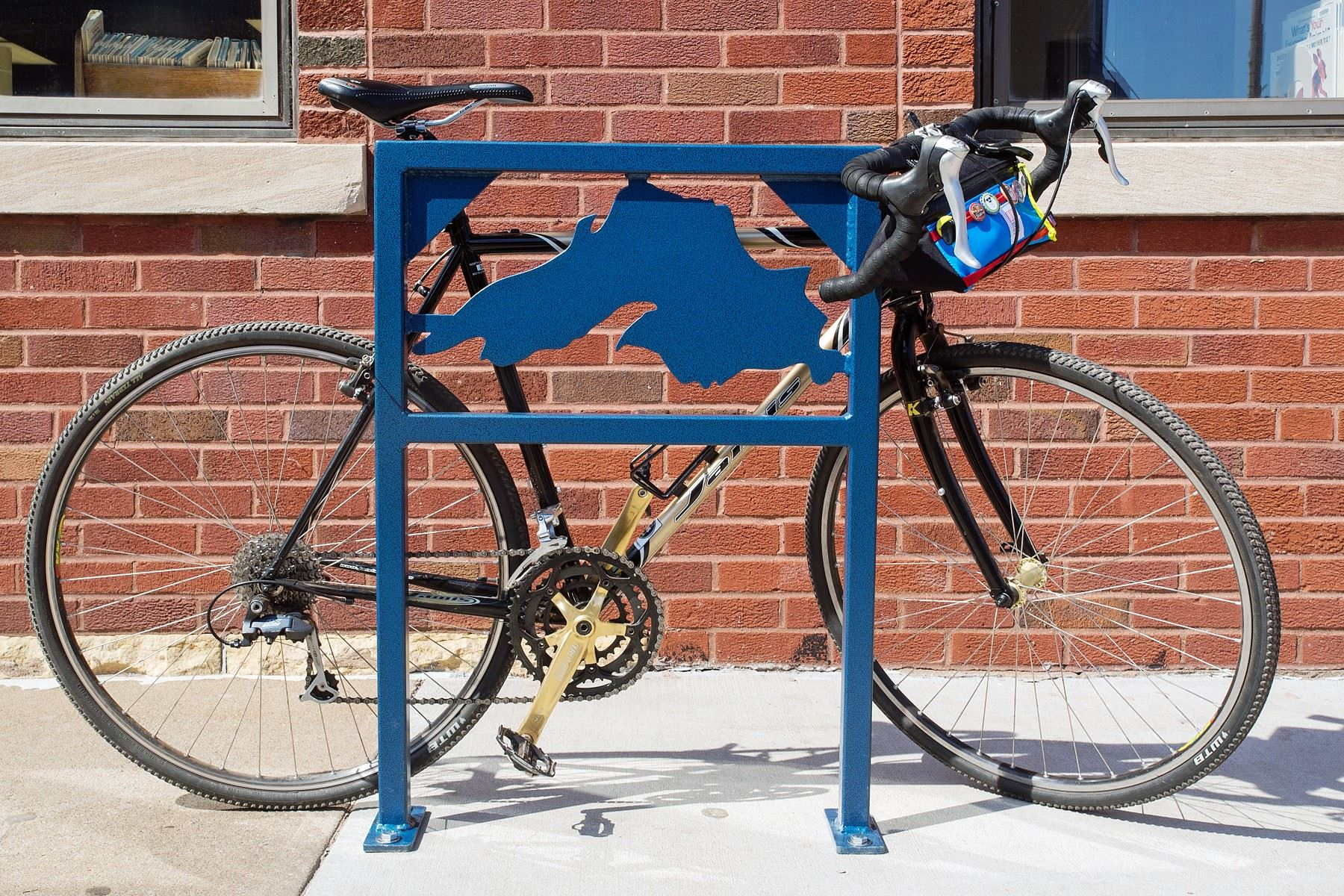 Bike on a Rack